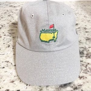 PGA Masters Hat / Silver Etching Velcro closure